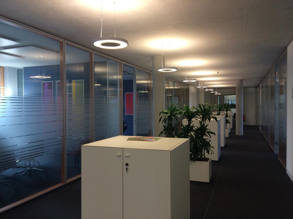 Beleuchtung Meetingpoint KSK Bonn