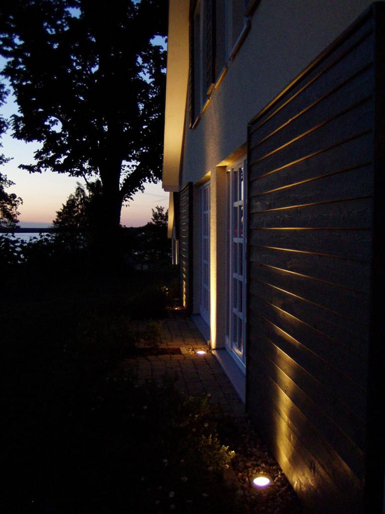 Nachtbeleuchtung Fasade