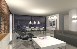 Visualisierung Penthouse Frankfurt