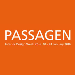 PASSAGEN Interior Design Week Köln 2016