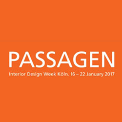 PASSAGEN Interior Design Week Köln 2017