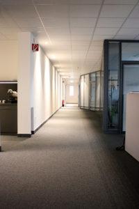 Flurbeleuchtung Bayer Vorstand
