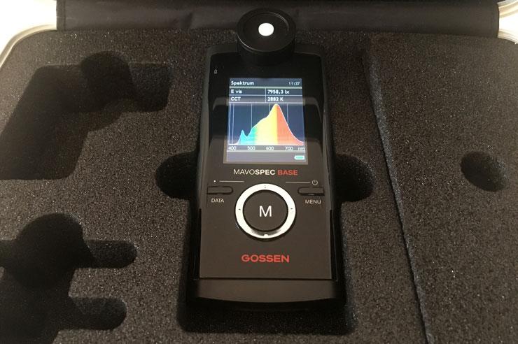 Spektrometer Gossen Mavospec Base