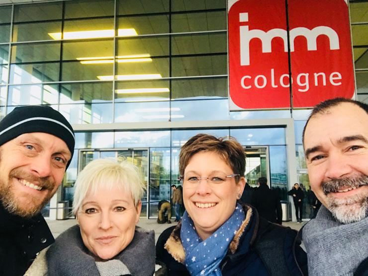 Lichtplaner zu Besuch IMM Köln 2018