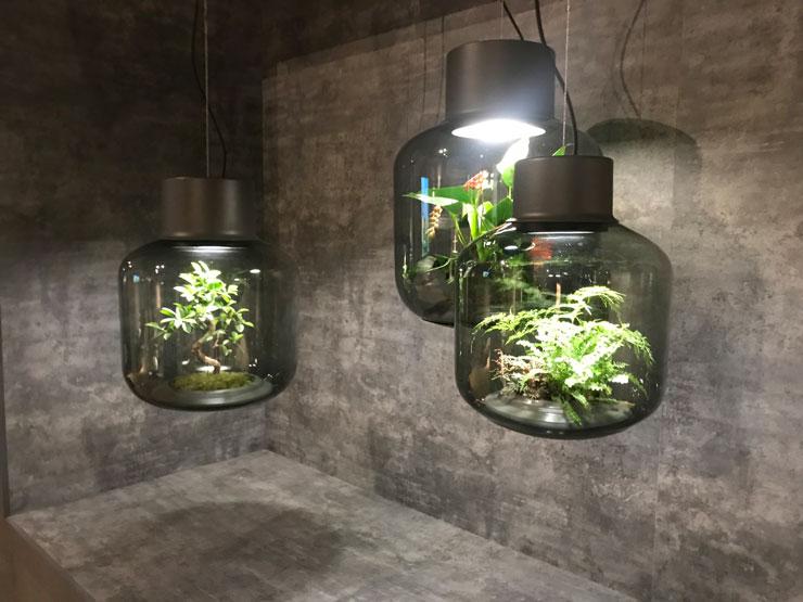 Pflanzenleuchten auf der IMM Köln 2018